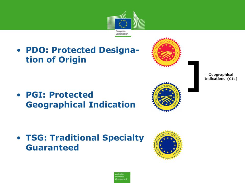 ] PDO: Protected Designa- tion of Origin